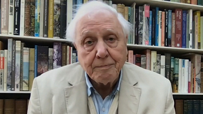 CBS This Morning - Sir David Attenborough on new documentary