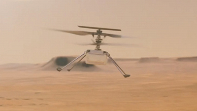 CBS This Morning - Monumental moment: First flight on Mars