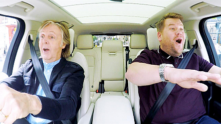 Watch Carpool Karaoke Clips From The Late Late Show With James