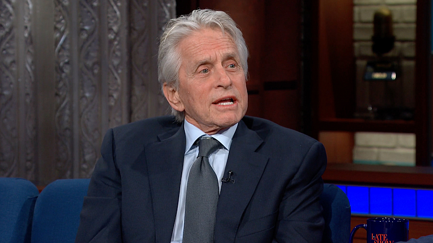 watch the late show with stephen colbert  michael douglas