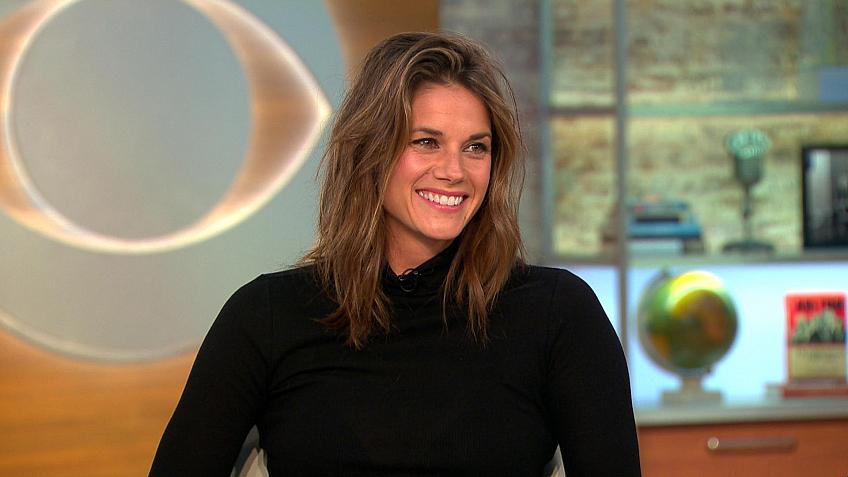 Watch CBS This Morning: Missy Peregrym talks new CBS