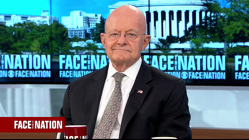 Watch Face The Nation Clapper Trump Informant Was Benign Full